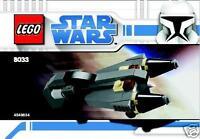 LEGO Star Wars The Clone Wars General Grievous Raumschiff Belbullab22 8033