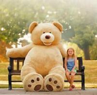 2016 Giant Big Cute Plush Stuffed Teddy Bear Soft Toy Gift-best Birthday Gift