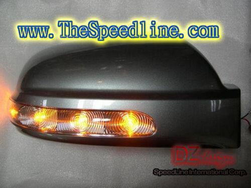 LED Signal Mirror Cover Fits 2004 2005 2006 2007 2008 2009 Hyundai Tucson OEM