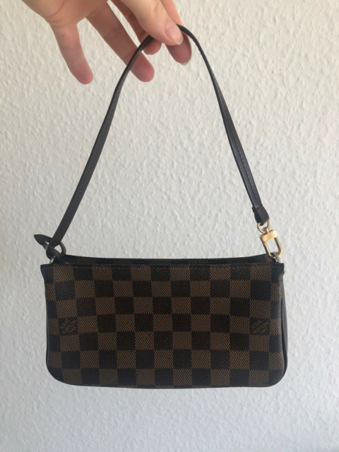 Clutch, Louis Vuitton, læder, Louis Vuitton pochette  Købt…
