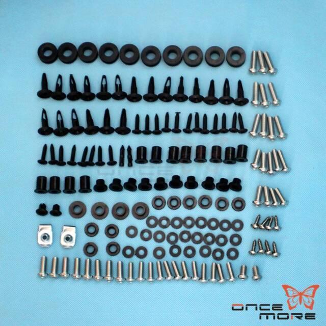 Motorcycle Complete Fairing Bolt Kit Body Screws For Honda CBR1000RR 2006-2007