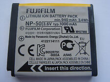 original battery FUJIFILM NP-50 F100fd F200EXR F300EXR F50fd F70EXR F60fd