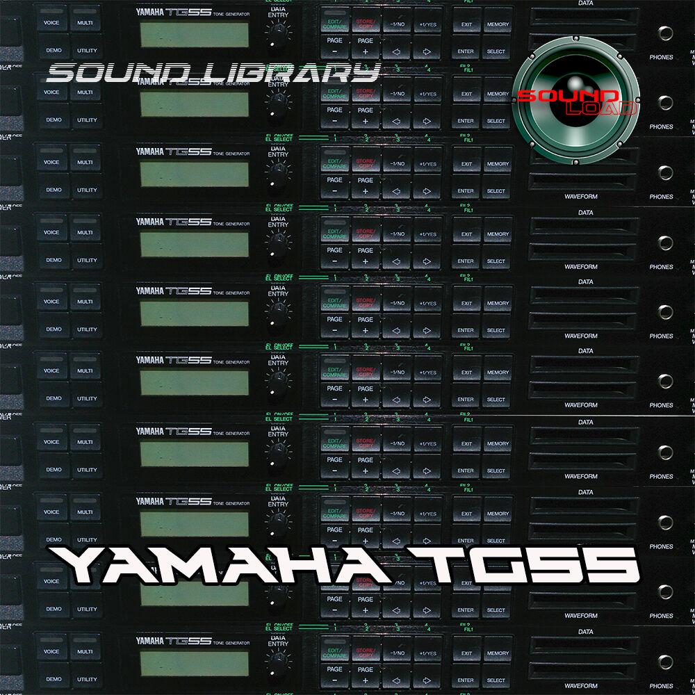 YAMAHA TG55 HUGE Original Factory & New Created Sound L
