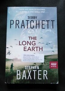 THE LONG EARTH Terry Pratchett US UNCORRECTED PROOF / ARC 1st ED