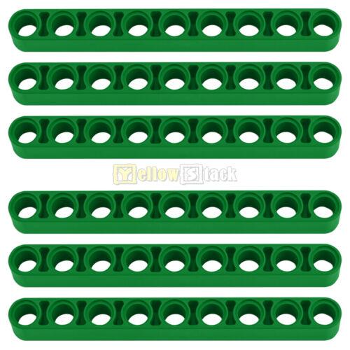 6x LEGO® Technic 40490 Liftarm 1 x 9 grün breit NEU green thick