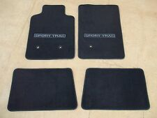 2007 2008 2009 2010 FORD EXPLORER SPORT TRAC CARPETED FLOOR MATS BLACK 4 PC SET
