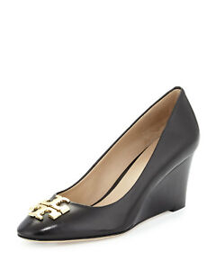 tory burch raleigh 70mm regina wedge shoe high heels 10