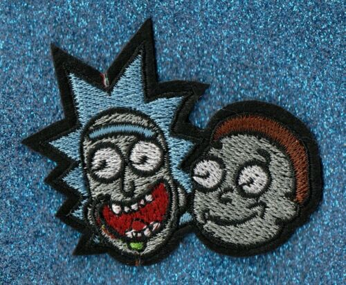 2Rick//Morty embroidery patches