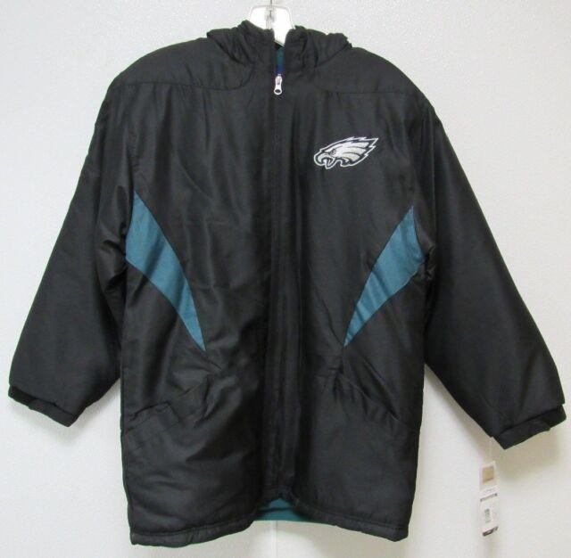 new products a8314 c96c2 NFL Philadelphia Eagles Sideline Jacket Youth - Medium