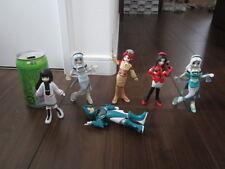 USED Rail Girls Railgirls Tetsudou Gijinka Figure 6pcs free shipping from Japan