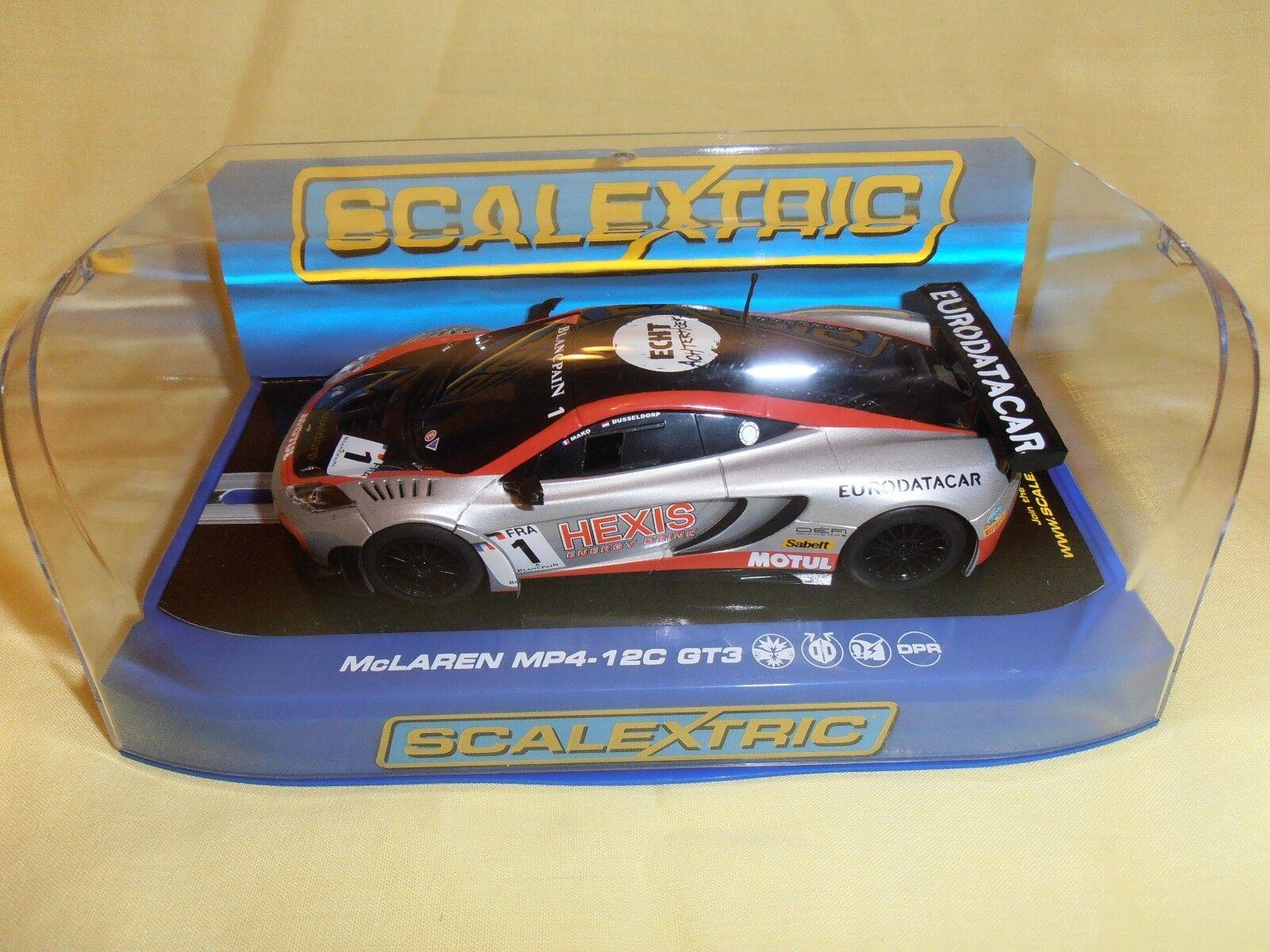 Qq 6015 Scalextric Porsche 911 Gt1 Pennzoil #6 Attractive Appearance Elektrisches Spielzeug
