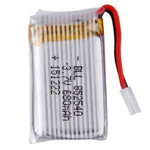 3-7V-680mAh-nachladbare-Li-Po-RC-Batterie-f-r-SYMA-X5C-X5C-1-X5-Hubschrauber-r