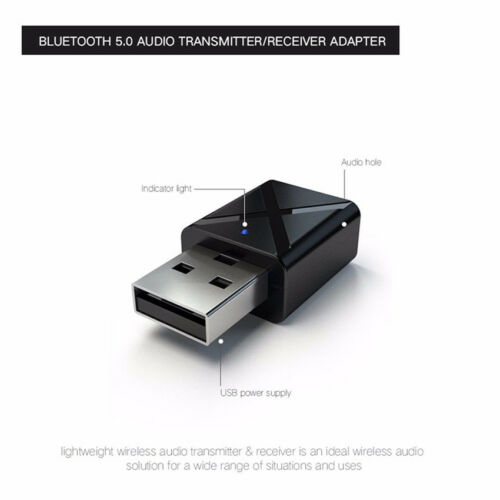 PC Laptop Hot 2019 Mini USB Bluetooth 5.0 Receiver Transmitter Adapter For TV