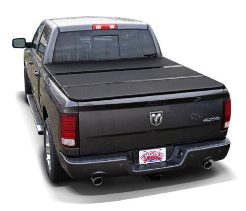 3 teilige Laderaumabdeckung Dodge Ram Short Bed zusammenklappbar Laderaumplane