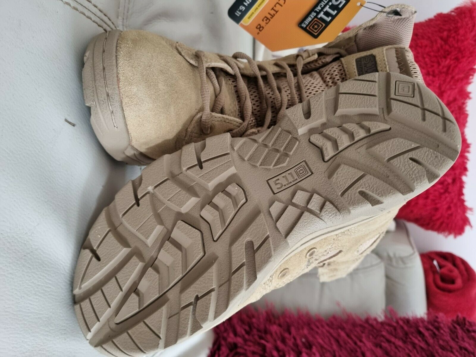 5.11 tactical boots size 5.5 new with tags unwanted gift.