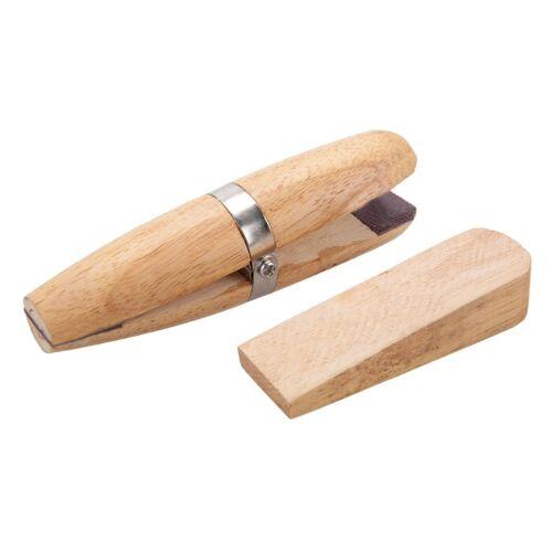 Anillo de Joyería de Madera de Madera Joyeros Abrazadera Tornillo Portaherramientas Anillos nueva herramienta de mano