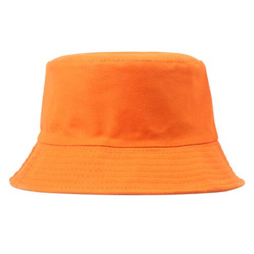 Bucket Hat Hunting Fishing Solid Color Cap Womens Mens Summer Sun Hats Gracious