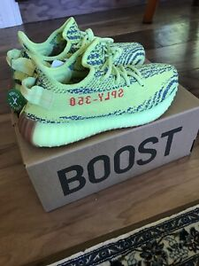 new product 8ed37 96eef Details about Adidas Yeezy Boost 350 V2 Semi Frozen Yellow (Size 6)
