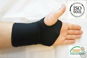 MEDICAL-Neoprene-Wrist-support-BRACE-thermal-carpal-Ligament-sprain-hand-wrap