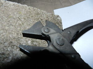 VINTAGE-BERNARD-WIRE-CUTTERS-6-1-2-034-NICEST-ONE-ON-E-BAY-EXTREMELY-CLEAN