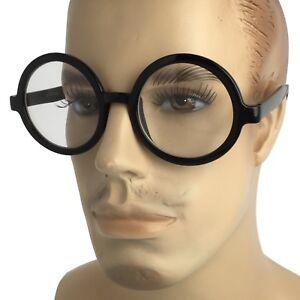 6f81bce1c5f Men VINTAGE RETRO WALDO PROFESSOR Style Clear Lens EYE GLASSES Round ...