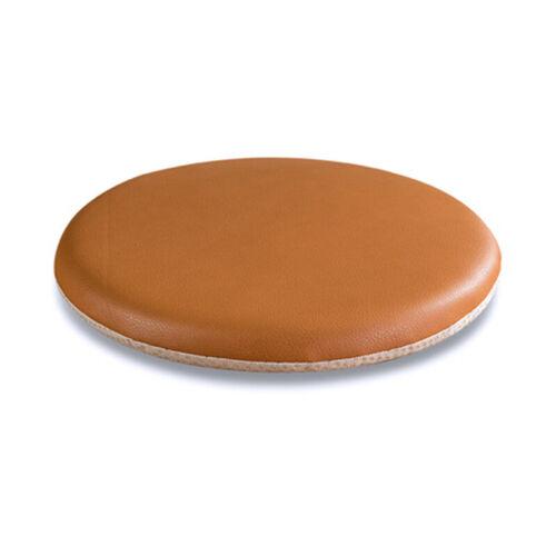 PU Leather Round Seat Pads Cushion Memory Foam Base House Decors 40x40cm NEW
