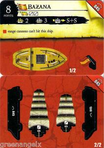 045 BAZANA Verzamelingen PIRATES RISE OF THE FIENDS kaartspellen