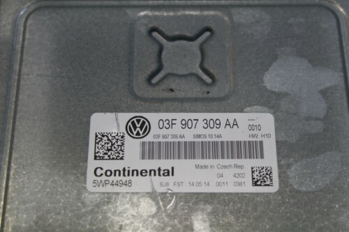 Motorsteuergerät ECU Steuergerät VW Caddy 2C 1,2 TSI 63KW 03F907309AA Original