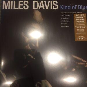 MILES-DAVIS-039-KIND-OF-BLUE-LP-039-2017-DELUXE-GATEFOLD-180-G-VINYL-LP-NEW-SEALED