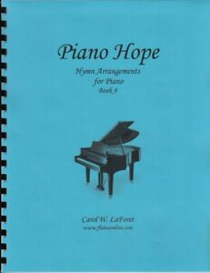 Church Hymn Arrangements for Piano HOPE Pieces Solo Offertory Worship #8
