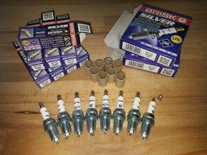 6431 6pk sparkplugs 6x Nuevo Ngk bujías de repuesto-parte no bu8h Stock No