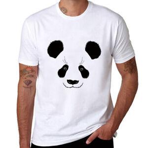 f0909d8086d Men s Cotton Soft T-shirts Panda Leisure Short Sleeve Tees Tops tee ...