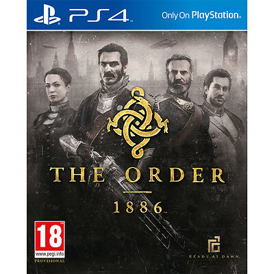 THE ORDER 1886 PS4 ACTION BRAND NEW SEALED OFFICIAL PAL