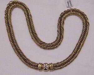 COLLANA-ORO-DIAMANTI-POMELLATO-GOLD-NECKLACE-DIAMONDS-KETTE-OR-COLLIER