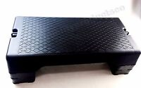 Fitness Aerobic Step Adjust 6 - 8 Exercise Stepper W/risers