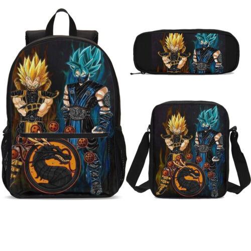 Dragon Ball Combo School Students Bag Lunch// Crossbody Pen Bags Kids Lot On Sale