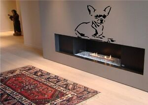 Image Is Loading Chihuahua Dog Puppy Pet Wall Sticker Decal Transfer