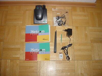 Dect Headset Gn Netcom Satellite Cordless Mit Anleitung Büro & Schreibwaren