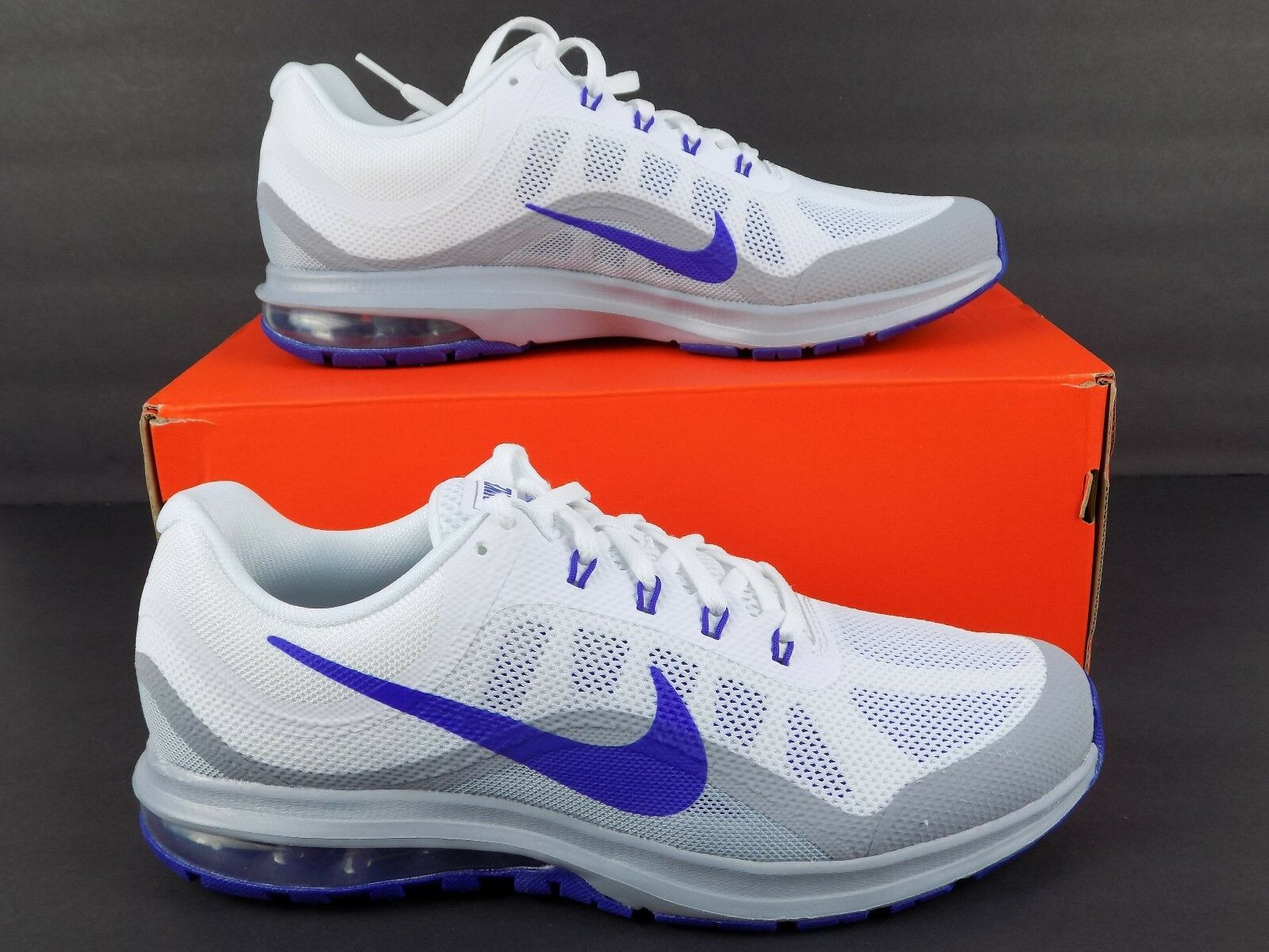 c56c3751f3 Nike Mens Air Max Dynasty 2 Running shoes Sz 10 NEW 852430-104 White ...