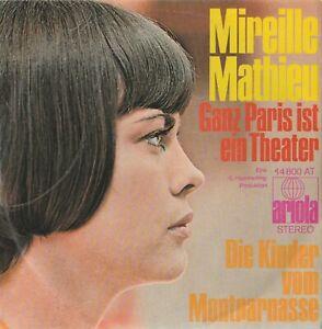 Schallplatte-Mireille-Mathieu-Ganz-Paris-ist-ein-Theater-Jahr-1970-Montparnas