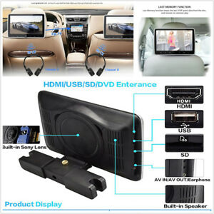 10-1-034-HD-Headrest-DVD-Player-Car-Multimedia-Back-Seat-Entertainment-Monitor-Kit