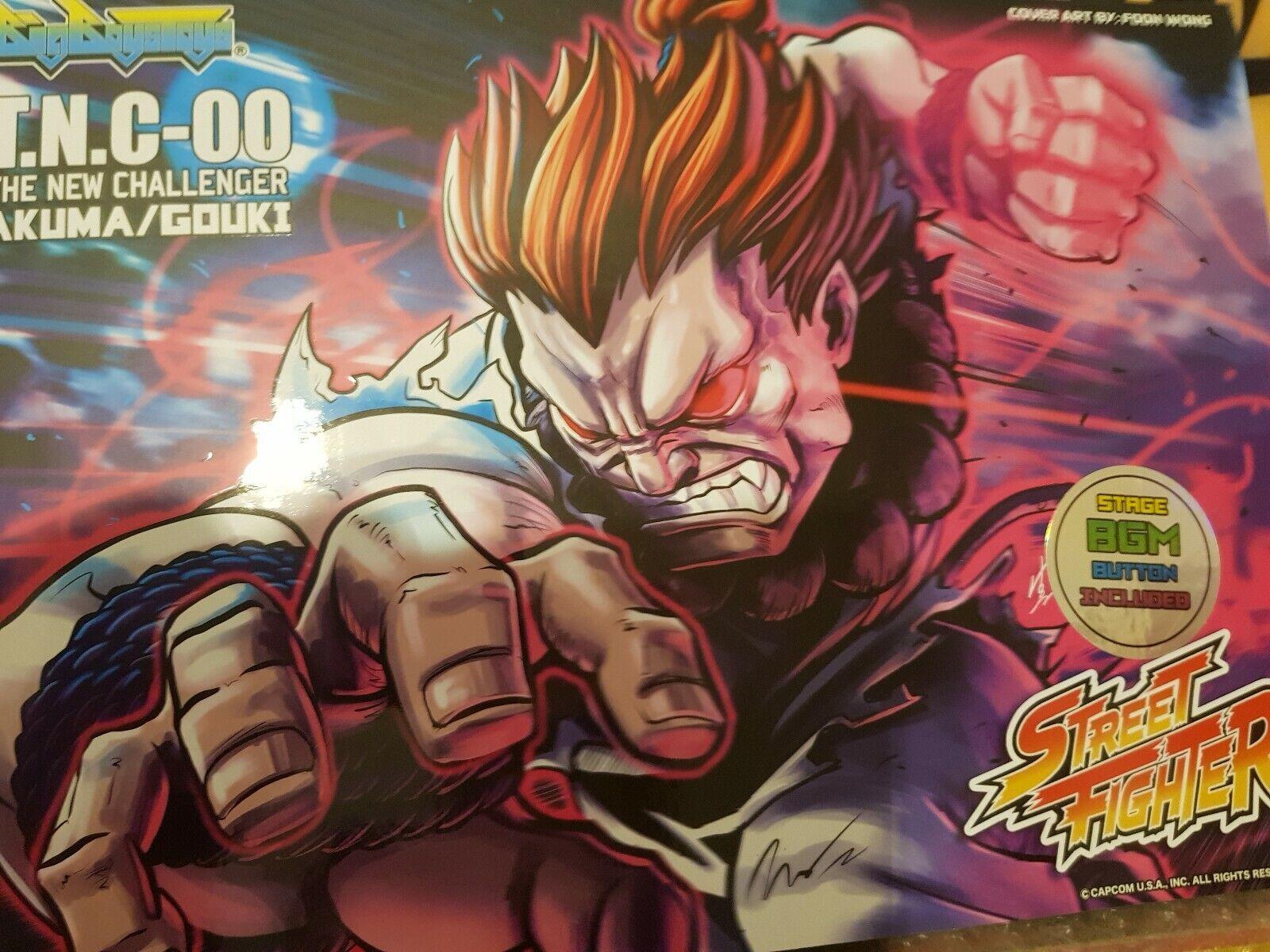 Big Boys Juguetes Street Fighter Tnc 00 Akuma Special Edition New