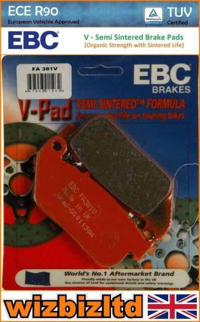 EBC Frente V Pastilla de Freno Harley Davidson XL 1200C Sportster Traje 2004-10