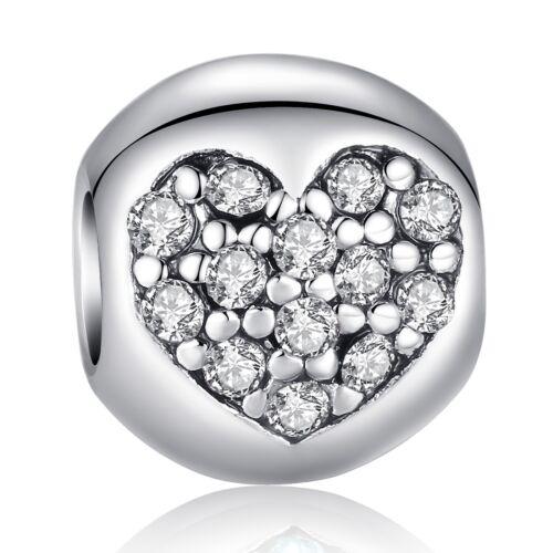 Voroco plaqué argent pendentif perle charm strass pour femmes Collier Bracelet