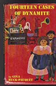 Fourteen Cases of Dynamite HC DJ Gina Ruck-Pauquet 1968 FIRST PRINT
