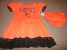 NEW Baltimore Orioles  BABY GIRLS 2 piece Cheerleader DRESS set SIZE 2T