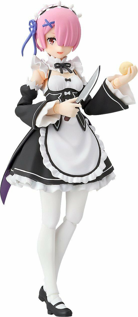 Max Factory Re Zero Starting Life in Another World Ram Figma Figure