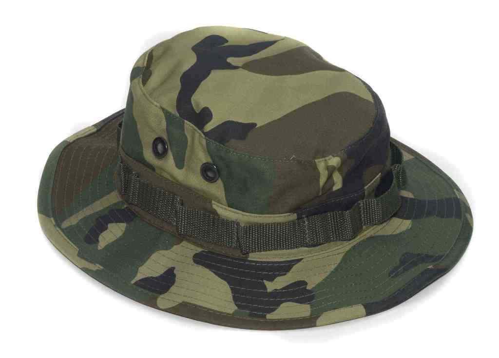 Unisex Kampf Hero Tarnfarbe Dschungelhut Armee Hut Kostüm Zubehör