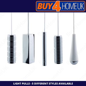 Cassellie-Bathroom-and-Kitchen-Light-Pulls-White-amp-Chrome-Cord-Included