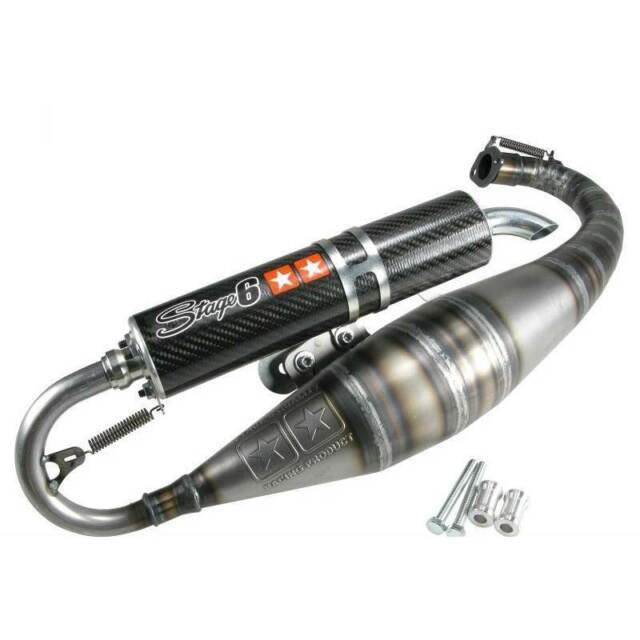 SILENCER STAGE6 R1400 PIAGGIO 50 Zip Sp I/II Lc 1996-2014
